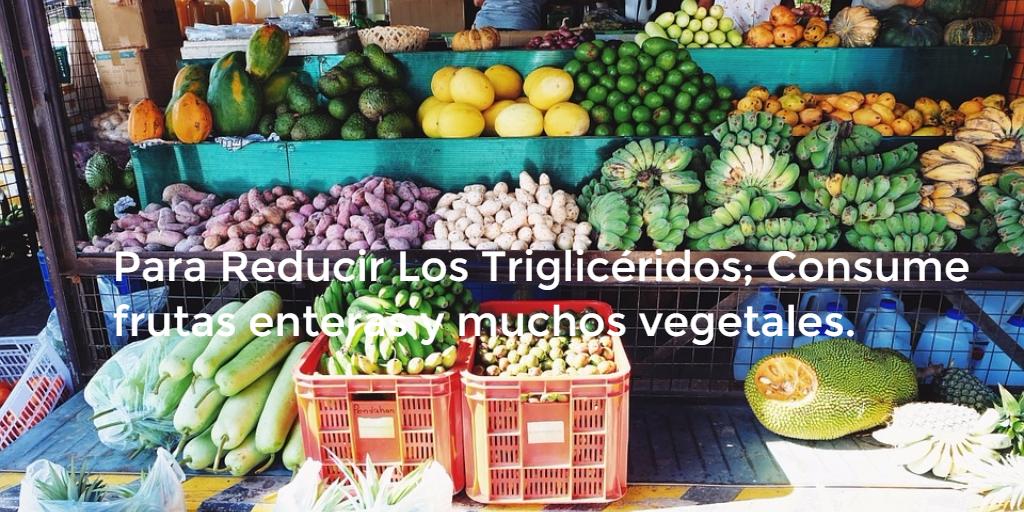 Como reducir los trigliceridos naturalmente - Trigliceridos alimentos ...