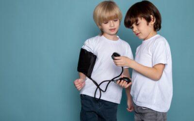 Presión arterial en niños